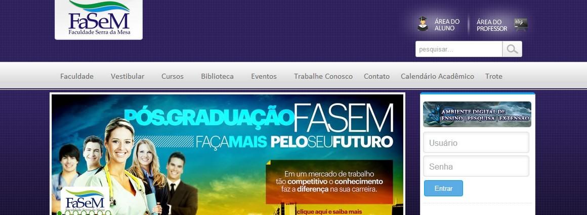 Fasem – Faculdade Serra da Mesa